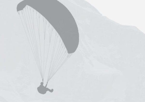"Paragliding Interlaken GmbH Paragliding ""Big Blue"" Winter"