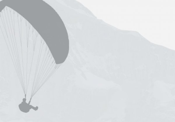 "Paragliding Interlaken GmbH 滑翔—触碰广阔的 ""Big Blue"" Winter 蓝天"