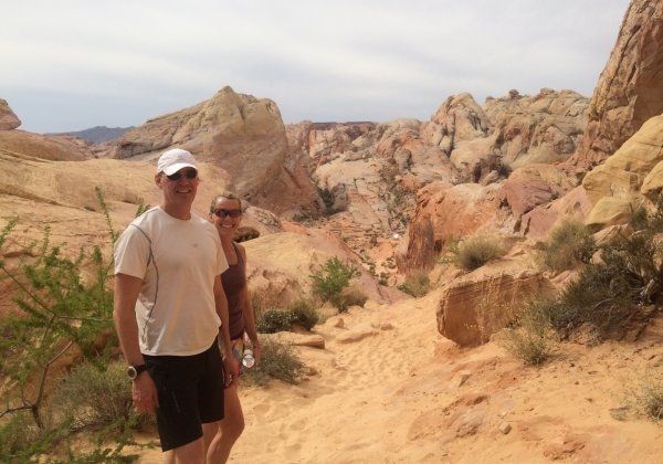 (C) Valley of Fire Run/Hike Tour