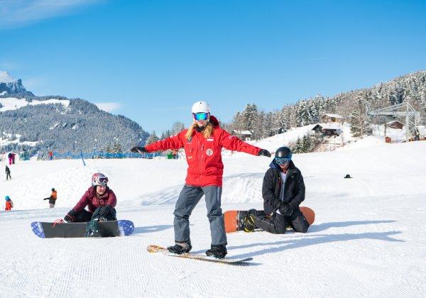 Outdoor Interlaken AG 1/2 Day Beginners Snowboard Package