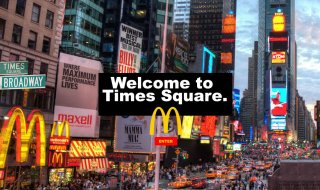 Time Square Countdown Trips