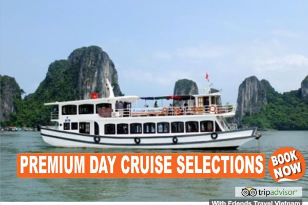 Day Cruises in Halong Bay