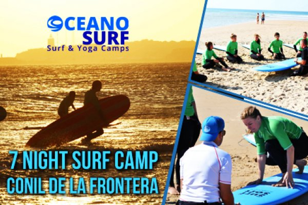 Surf Camp 7 Noches