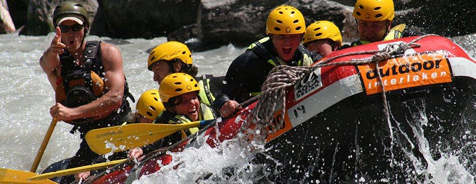 River Rafting in Switzerland