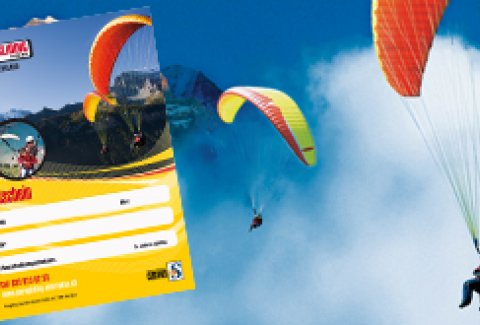 Paragliding Double Air Time